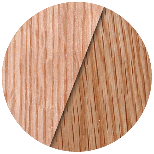 The differences between red oak and white hardwood