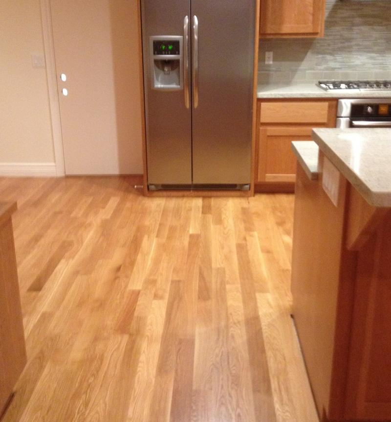 Pictures comparing white oak vs red oak patrick daigle for Hardwood floors examples