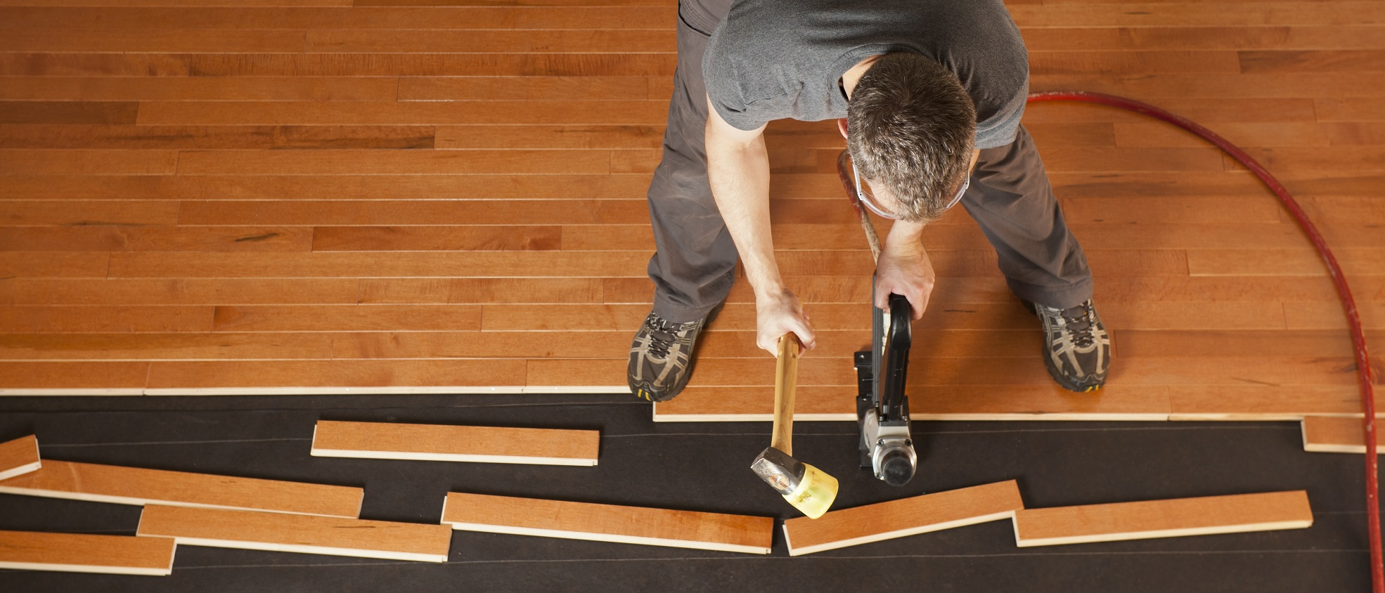 How To Lay Hardwood Floor | Carpet Review