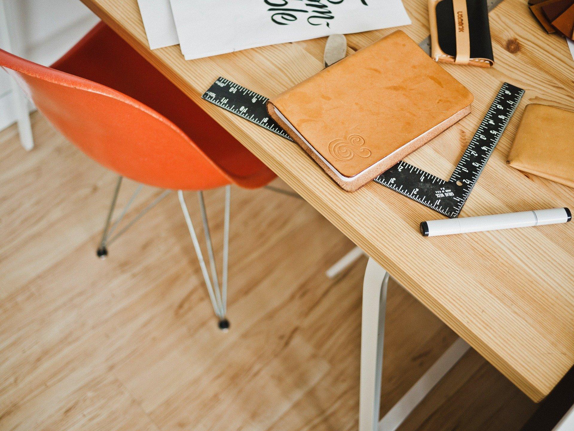 Wood Desk Measurement PDHF