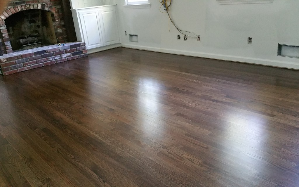 Red Oak Stained Espresso Patrick Daigle Hardwood Flooring