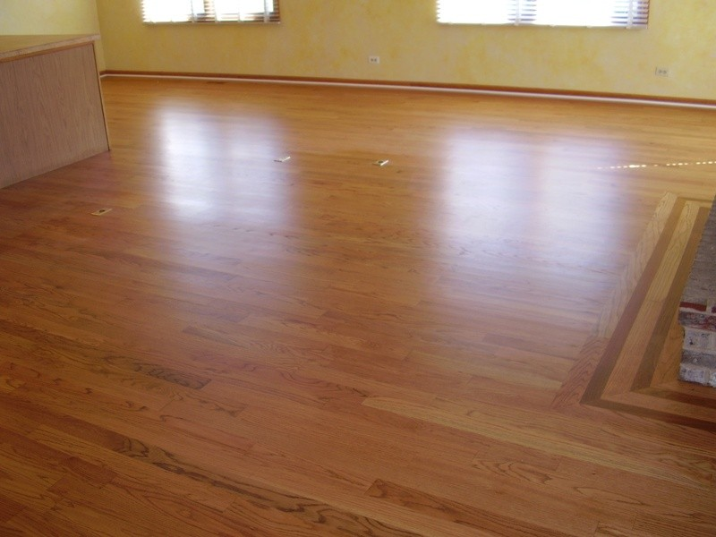 Red Oak Stained Golden Pecan Patrick Daigle Hardwood